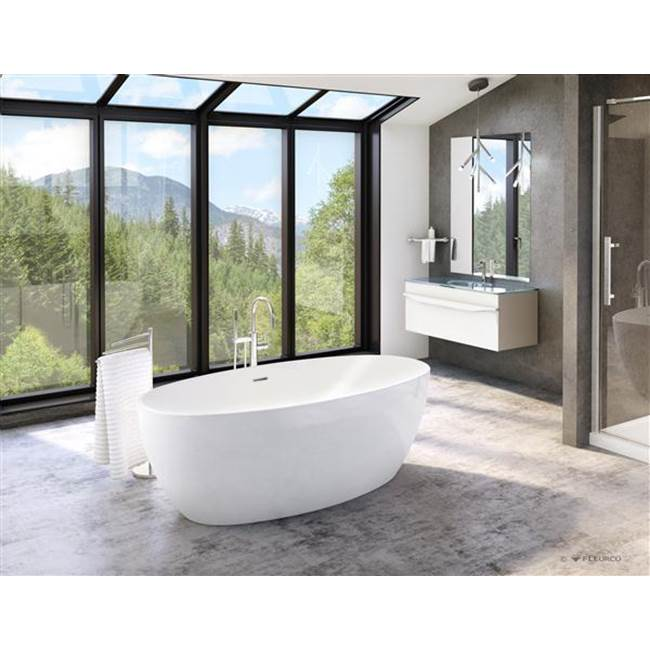 Aria By Fleurco Free Standing Soaking Tubs item BVO6732-18