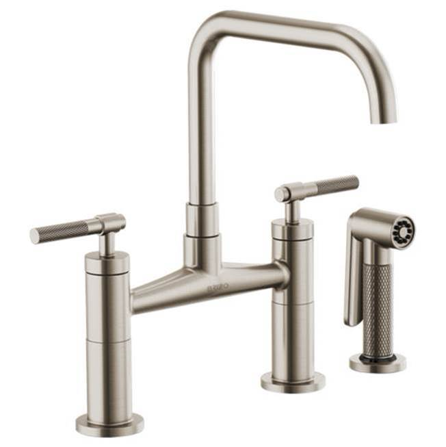 Brizo Bridge Kitchen Faucets item 62553LF-SS