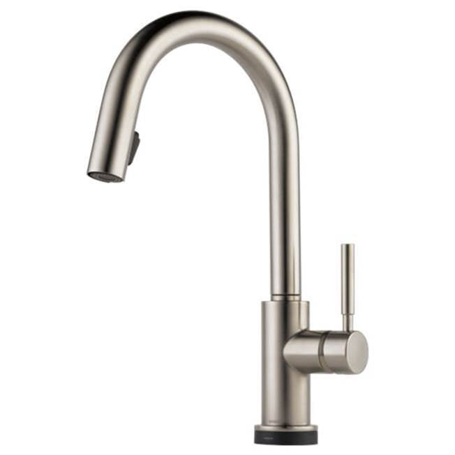 Brizo Single Hole Kitchen Faucets item 64020LF-SS