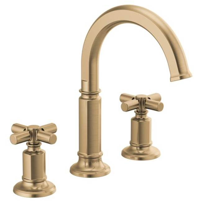 Brizo Widespread Bathroom Sink Faucets item 65376LF-GLLHP-ECO