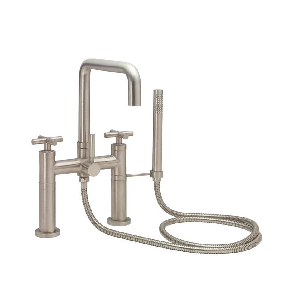 California Faucets Deck Mount Tub Fillers item 1208-53K.18-MBLK