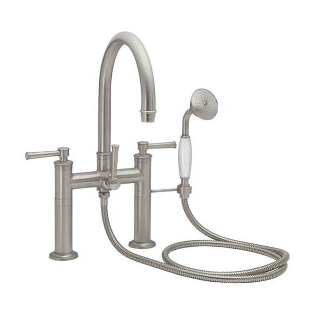 California Faucets Deck Mount Tub Fillers item 1308-48.20-WHT