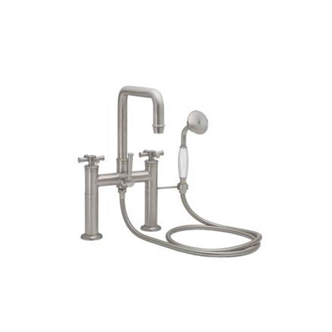 California Faucets Deck Mount Tub Fillers item 1408-48X.20-MBLK