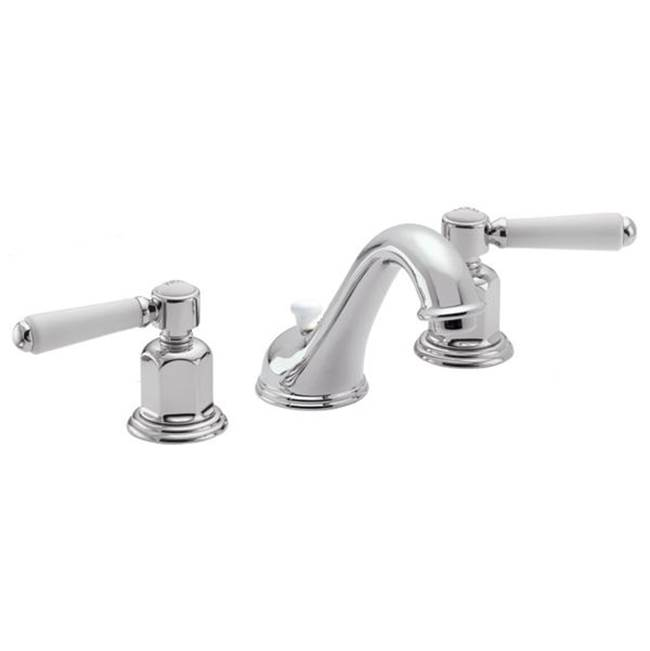 California Faucets Widespread Bathroom Sink Faucets item 3502-MBLK