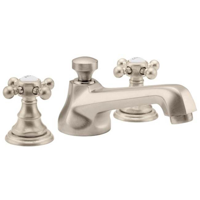 California Faucets Widespread Bathroom Sink Faucets item 6002-BLKN