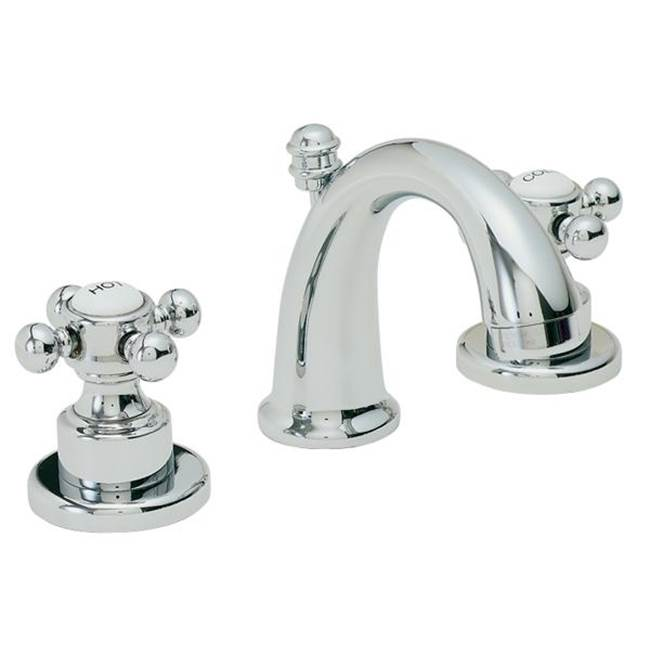 California Faucets Mini Widespread Bathroom Sink Faucets item 6007-WHT