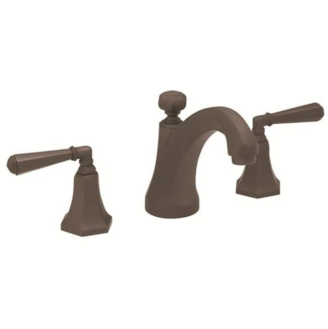 California Faucets Widespread Bathroom Sink Faucets item 6302-H46ZB-MBLK