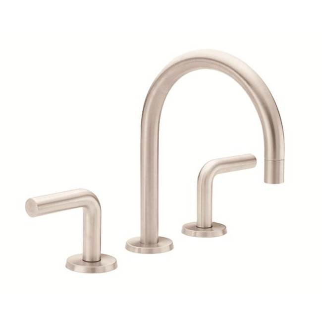 California Faucets Widespread Bathroom Sink Faucets item 7502-MBLK