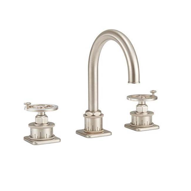 California Faucets Widespread Bathroom Sink Faucets item 8602WZB-MBLK