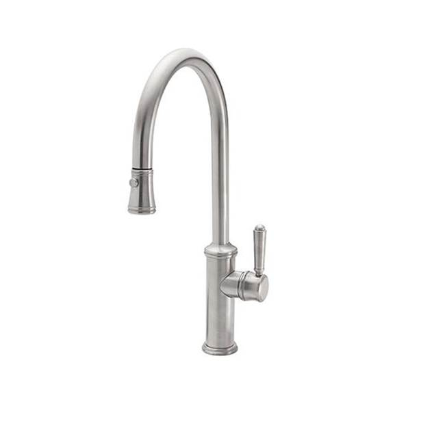California Faucets Pull Down Faucet Kitchen Faucets item K10-100-CLEV-BLKN