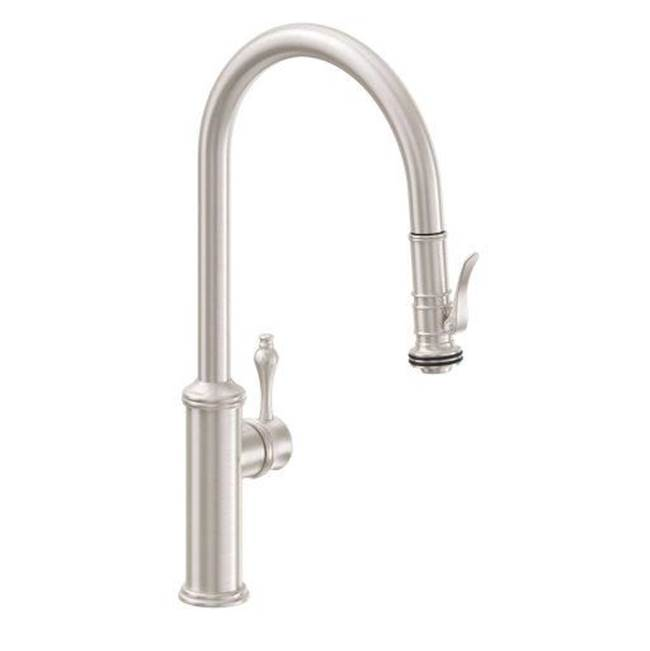 California Faucets Pull Down Faucet Kitchen Faucets item K10-100SQ-33-ORB