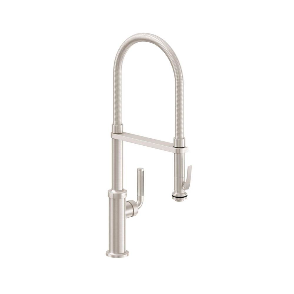 California Faucets Single Hole Kitchen Faucets item K30-150SQ-KL-WHT