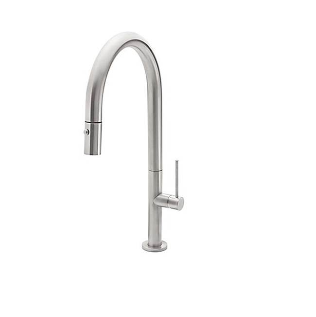 California Faucets Pull Down Faucet Kitchen Faucets item K50-100-BSST-WHT