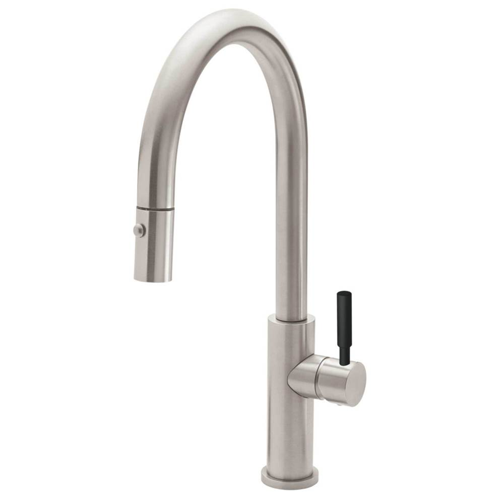 California Faucets Pull Down Faucet Kitchen Faucets item K51-100-BST-WHT