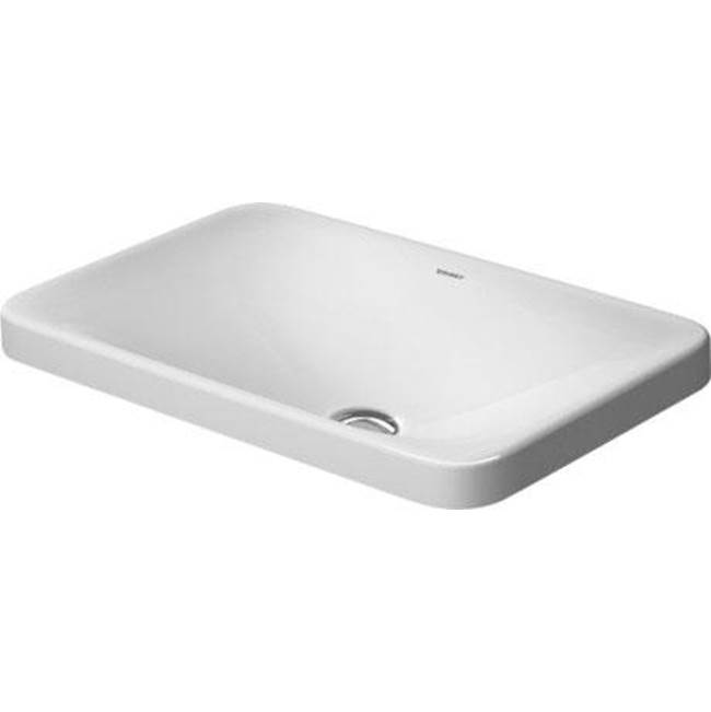 Duravit Drop In Bathroom Sinks item 03775500001