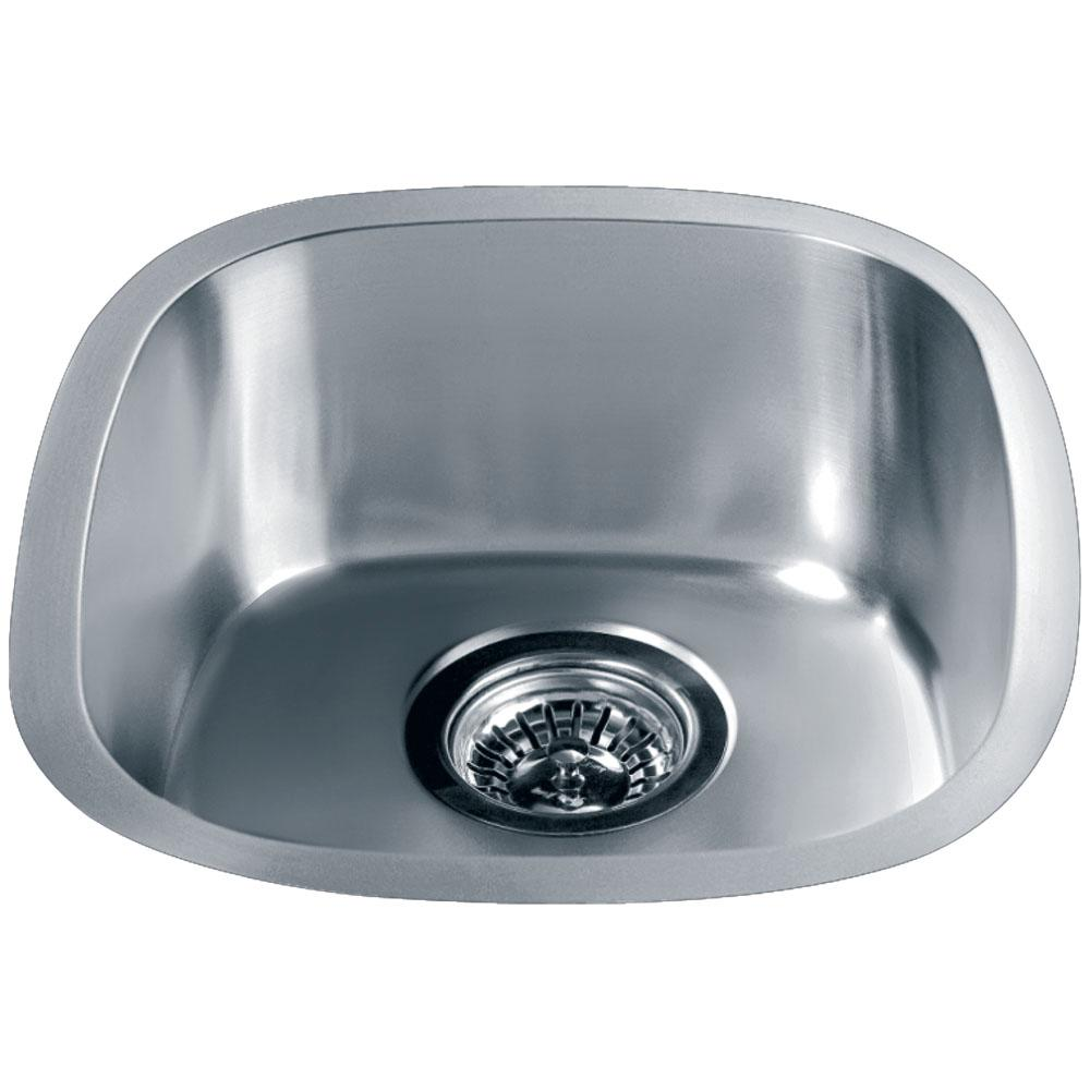 Dawn   3237   Dawn® Undermount Single Bowl Bar Sink