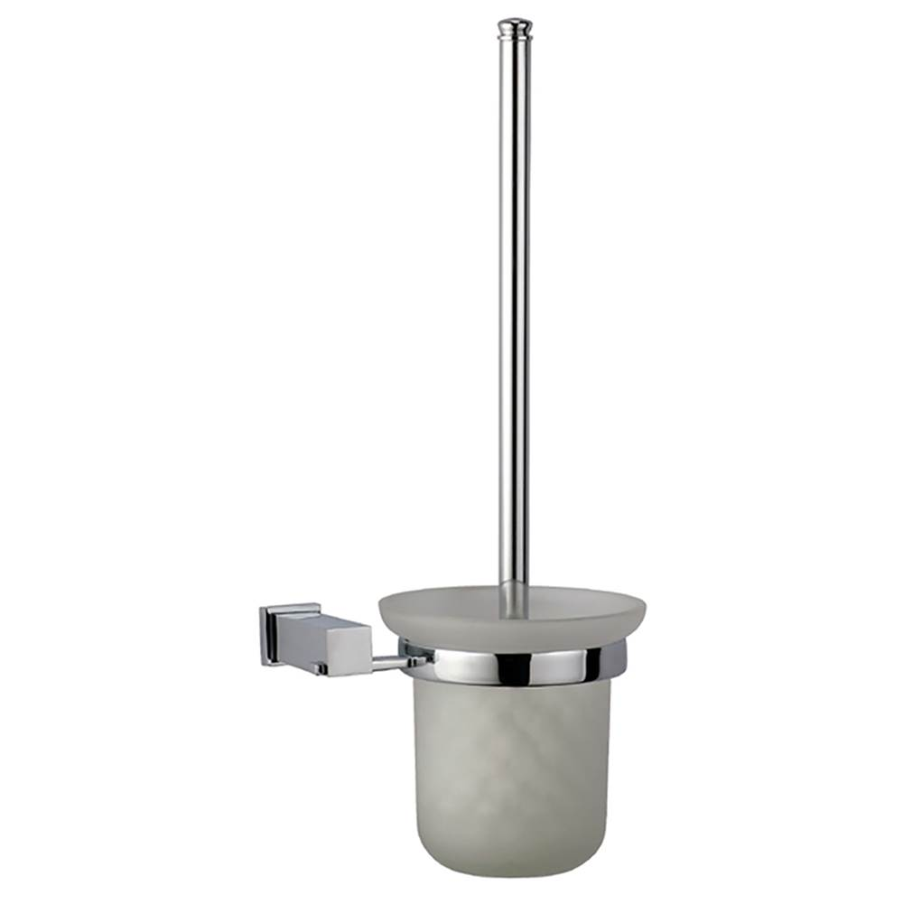 dawn 8208s dawn square series toilet brush and glass tumbler holder - Bathroom Accessories Distributors