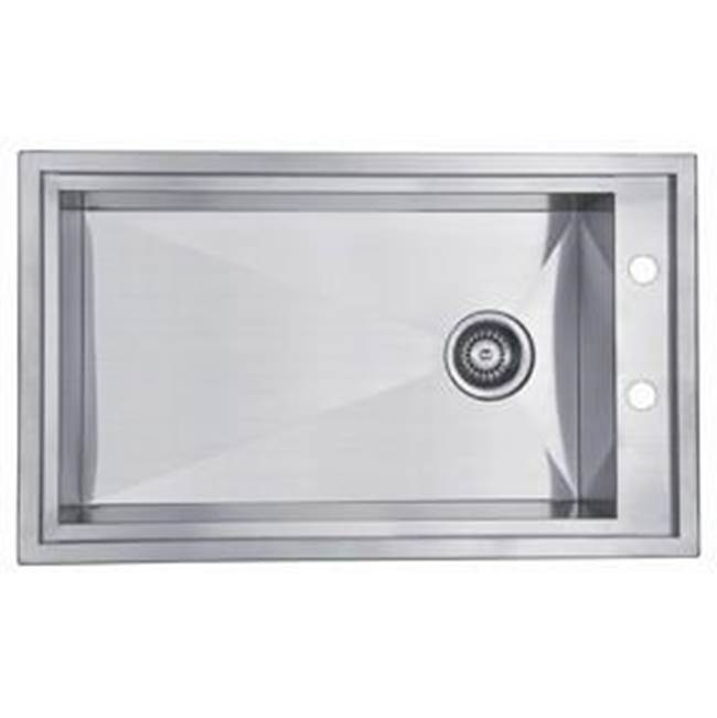Dawn Drop In Kitchen Sinks item DSQ2917