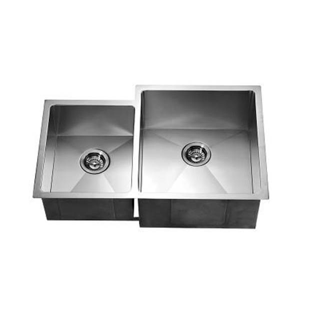 Dawn Undermount Kitchen Sinks item DSQ311815L