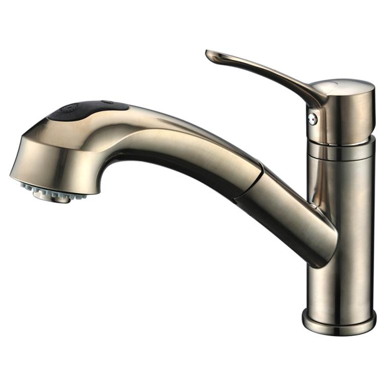 Dawn Single Hole Kitchen Faucets item AB50 3711BN