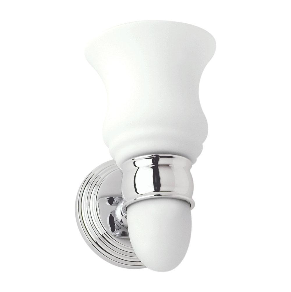 Ginger One Light Vanity Bathroom Lights item 1181SO/PC