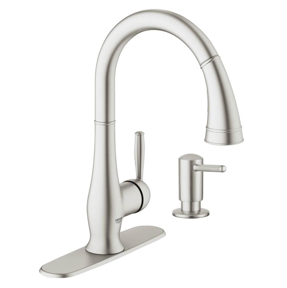 Grohe Steel | Decorative Plumbing Distributors - Fremont, CA