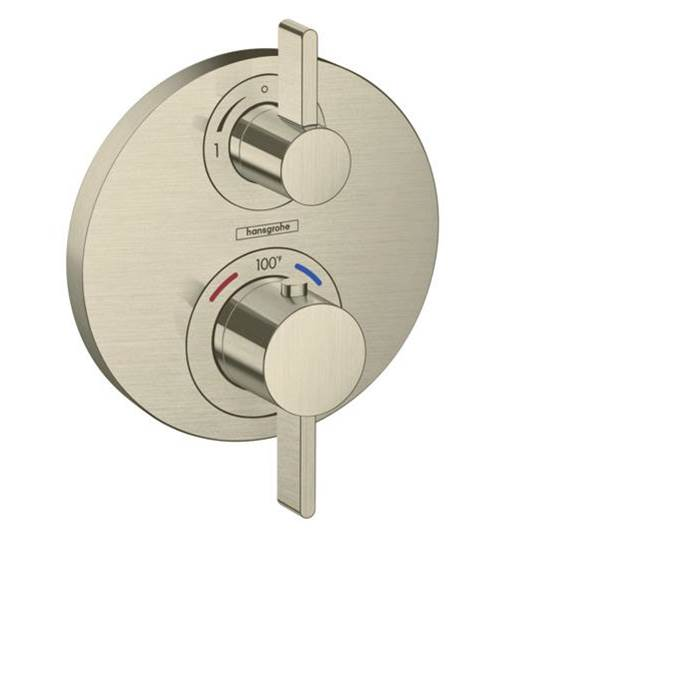 Hansgrohe Thermostatic Valve Trims With Integrated Diverter Shower Faucet Trims item 15758821