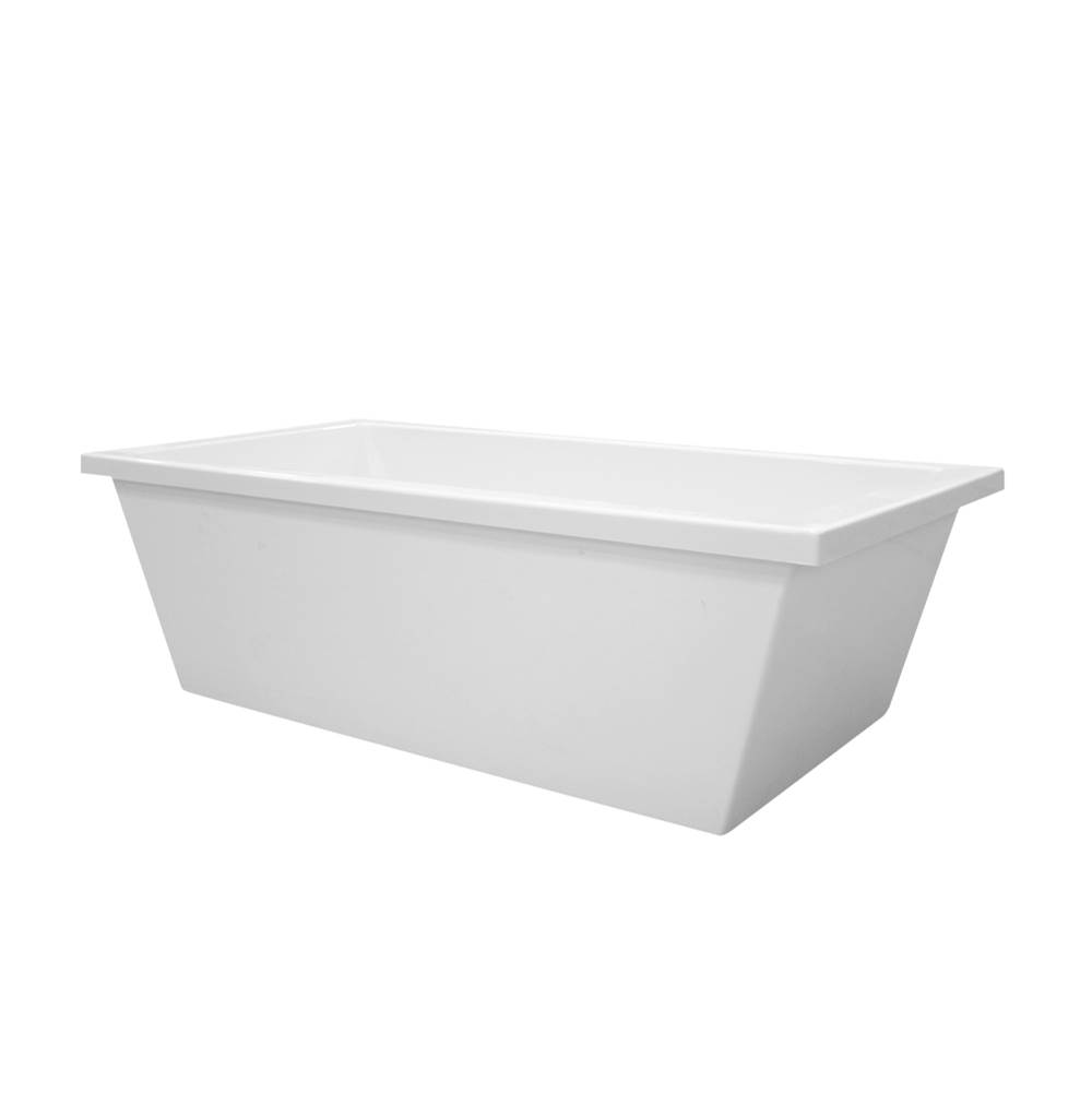 Hydro Systems Free Standing Soaking Tubs item CHE7236ATA-WHI