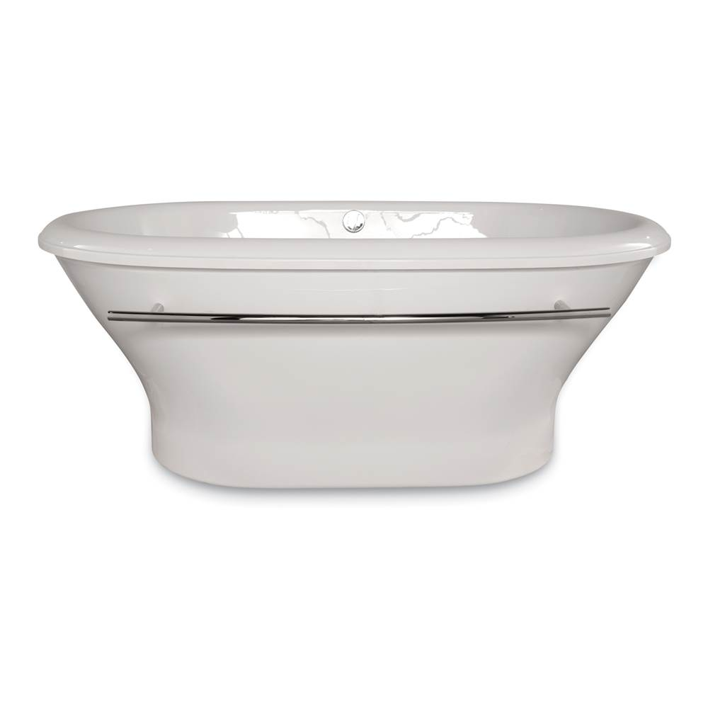 Hydro Systems Free Standing Soaking Tubs item CHL7040ATA-WHI