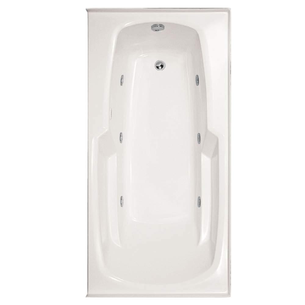 Hydro Systems Drop In Whirlpool Bathtubs item ENT6632GWP-WHI-LH
