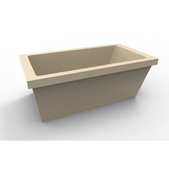 Hydro Systems Free Standing Soaking Tubs item LUC7236ATO-BON