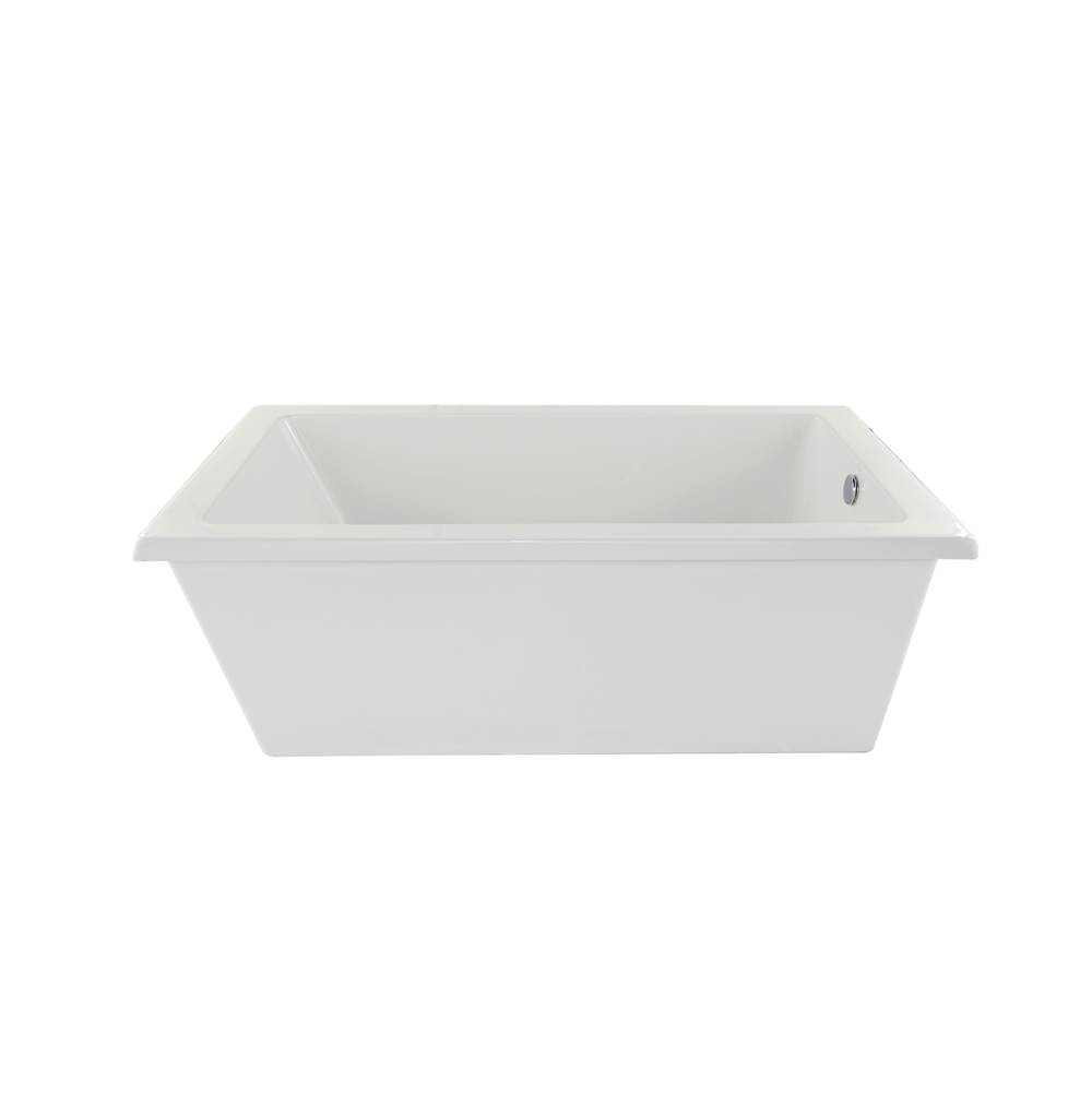 Hydro Systems Free Standing Soaking Tubs item LUC7236ATO-WHI