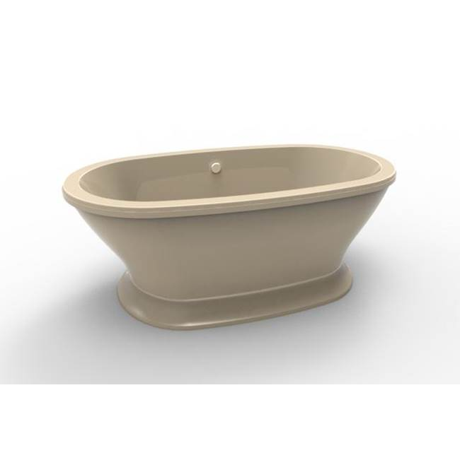 Hydro Systems Free Standing Soaking Tubs item SOP7040ATO-BON
