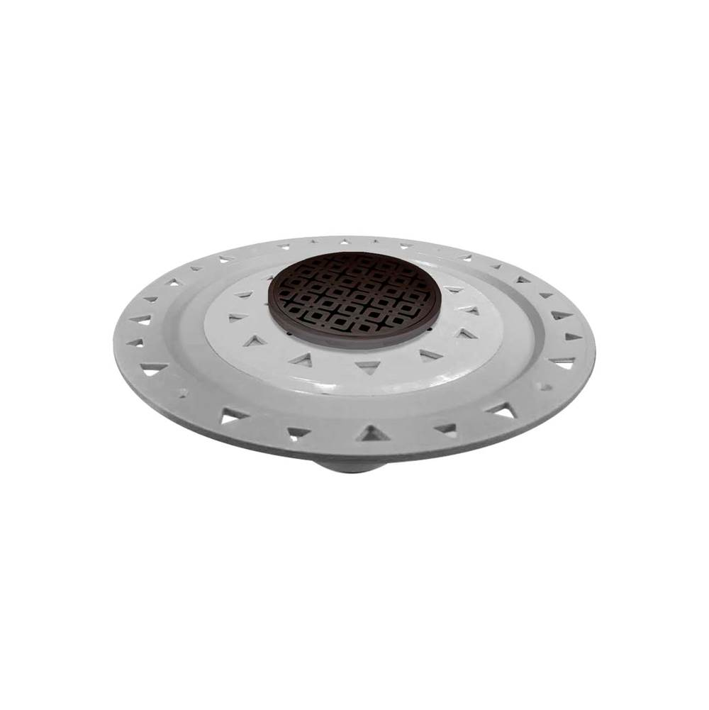 Infinity Drain Flanged Commercial Drainage item RKDB 5-P ORB