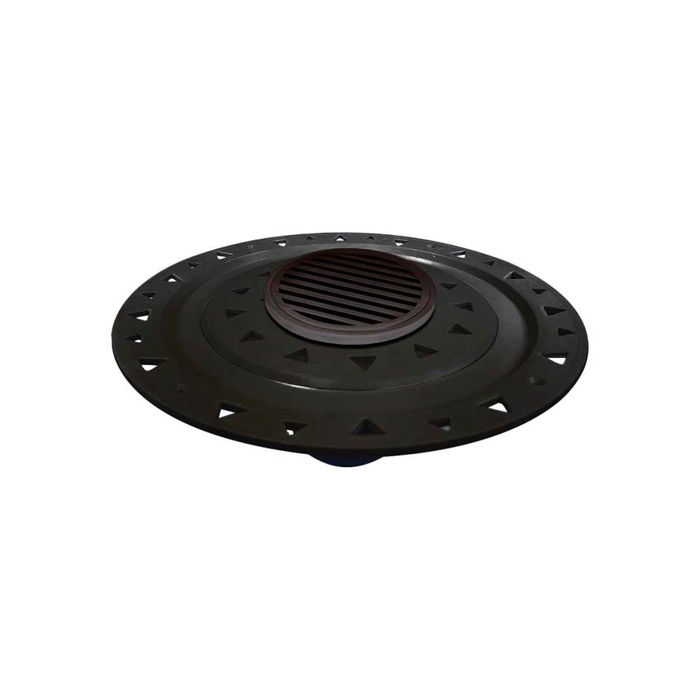 Infinity Drain Flanged Commercial Drainage item RNDB 5-A ORB
