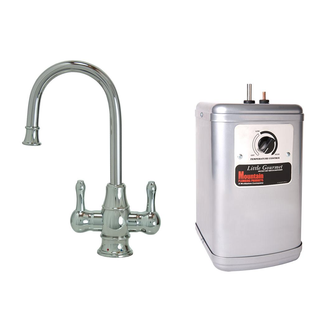 Mountain Plumbing Hot And Cold Water Faucets Water Dispensers item MT1851DIY-NL/CPB