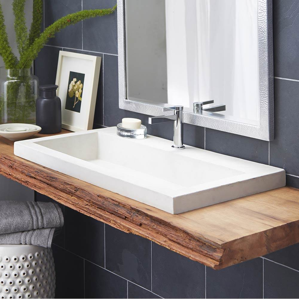 Native Trails Drop In Bathroom Sinks item NSL3619-P