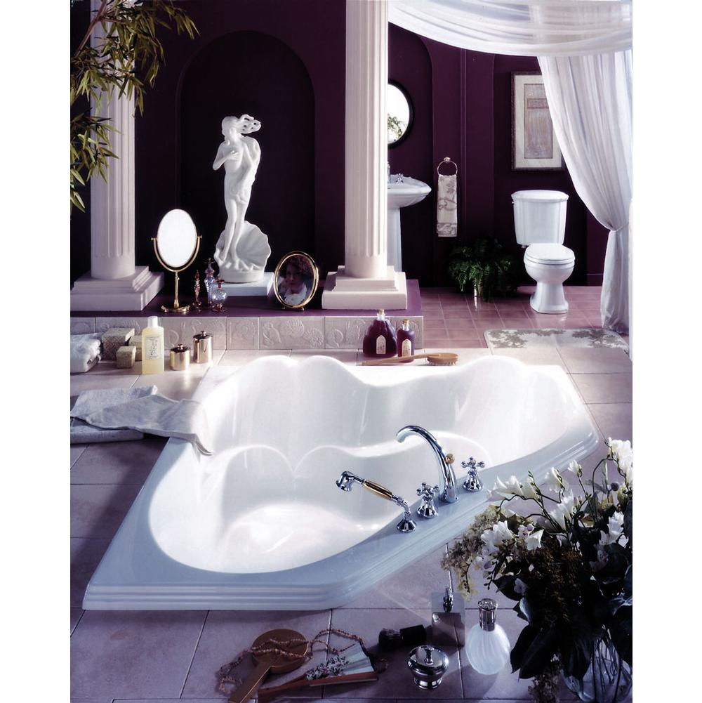 ARIANE bathtub 60x60, Mass-Air, Ice gray