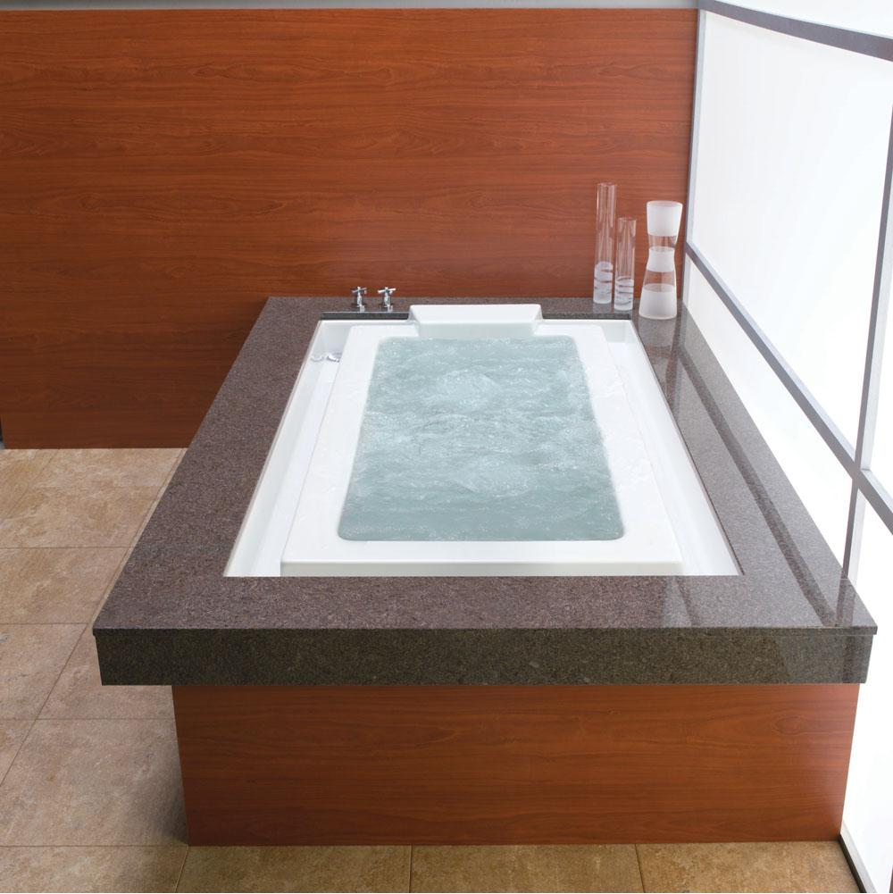 KARA bathtub 44x77 with 2'' lip, Tonic, Sandbar