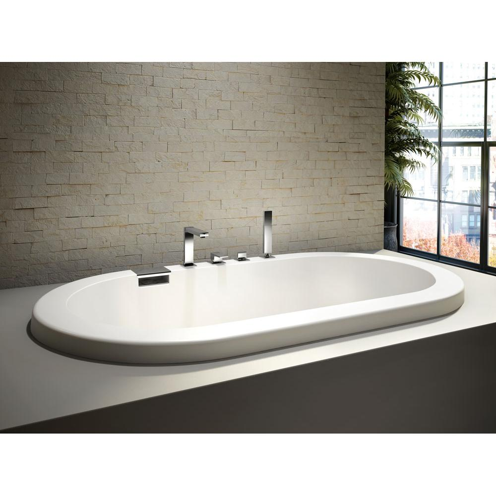 TAO bathtub 36x66 with 2'' lip, Whirlpool/Mass-Air/Activ-Air, Ice gray