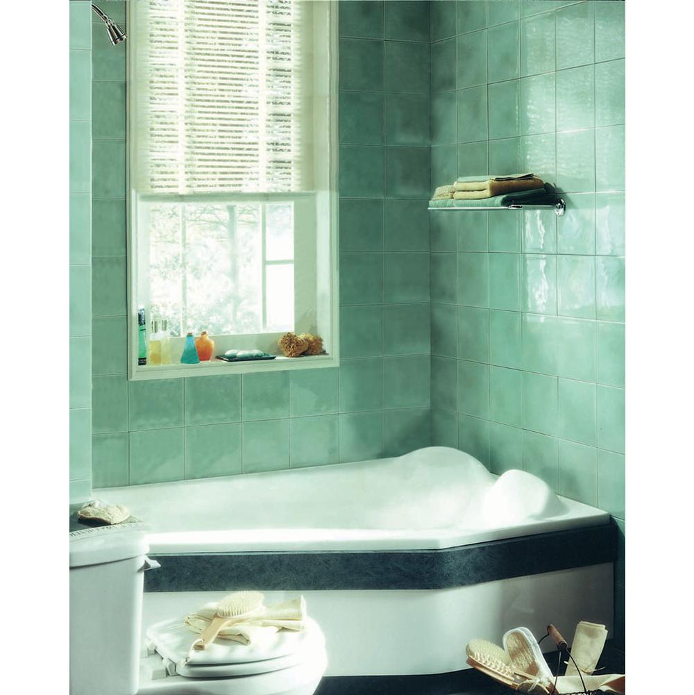VENUS bathtub 42x60 with Right drain, Whirlpool/Mass-Air, Bone