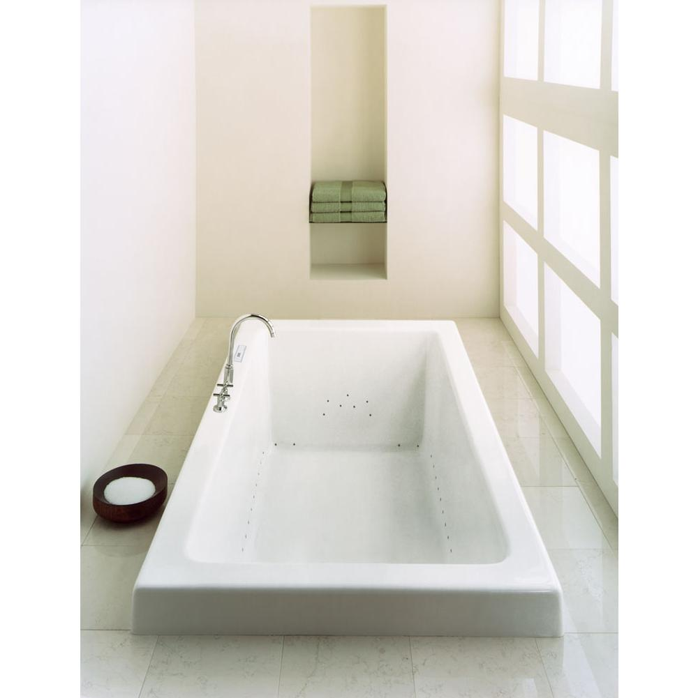 ZEN bathtub 36x72 with armrests and 1'' top lip, Mass-Air/Activ-Air, Bone