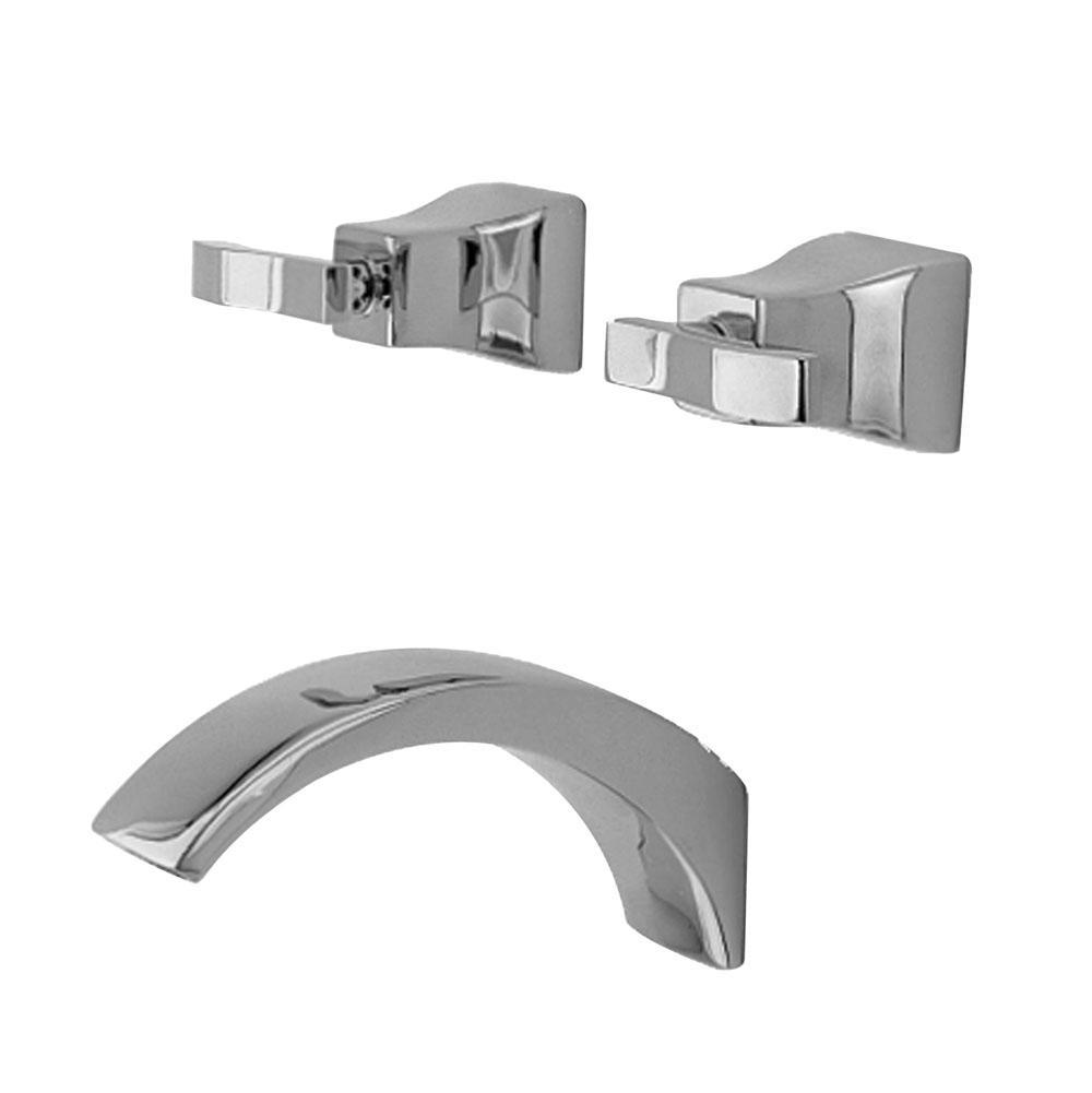Faucets Tub Fillers Decorative Plumbing Distributors Fremont CA - Wall mount roman tub filler