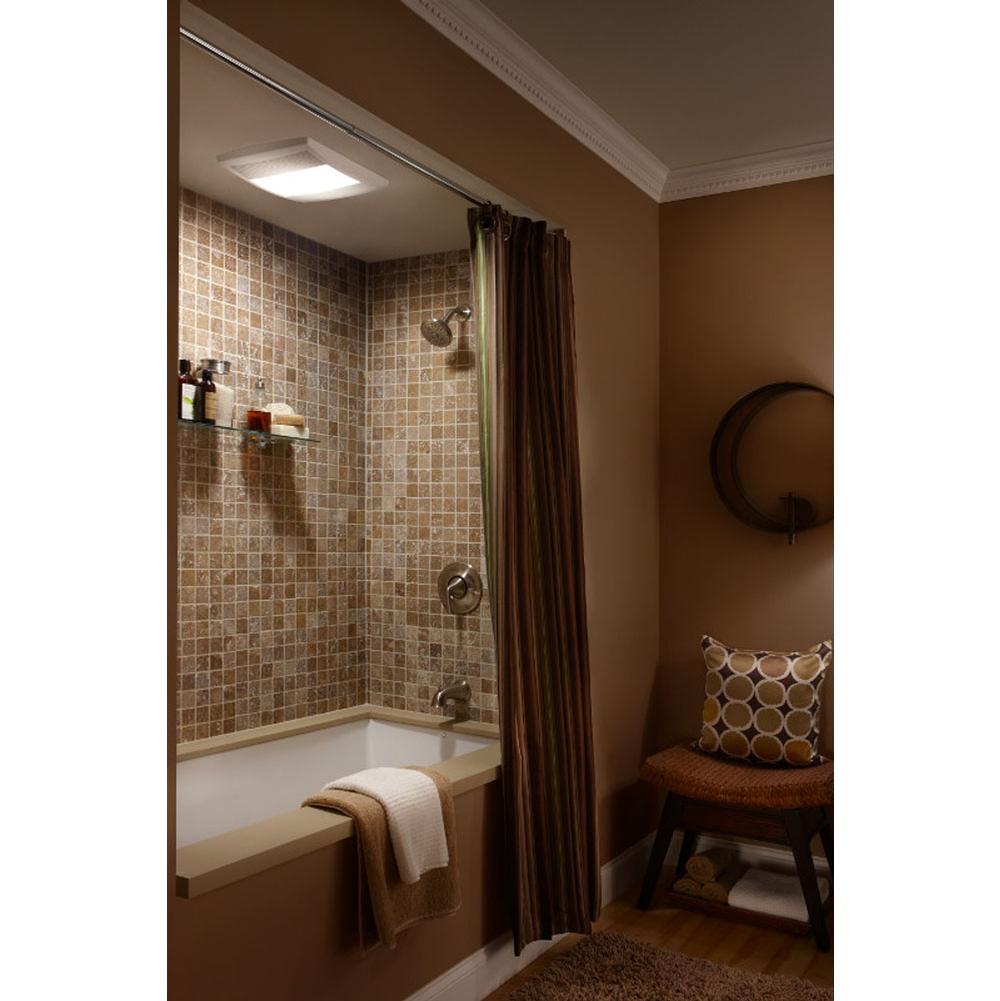 Bathroom ceiling decorations - Broan Nutone Decorative Plumbing Fremont Ca Brilliant 70 Cfm Ventilation Fan With Heater And Light Un 665rp Bathroom Ceiling