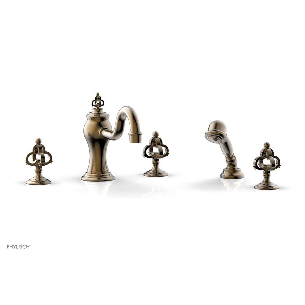 Phylrich Deck Mount Roman Tub Faucets With Hand Showers item 163-48/047