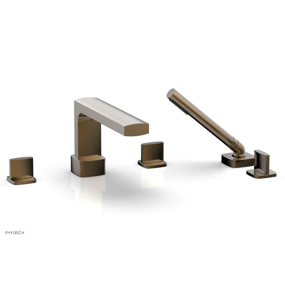Phylrich Deck Mount Roman Tub Faucets With Hand Showers item 181-48-047