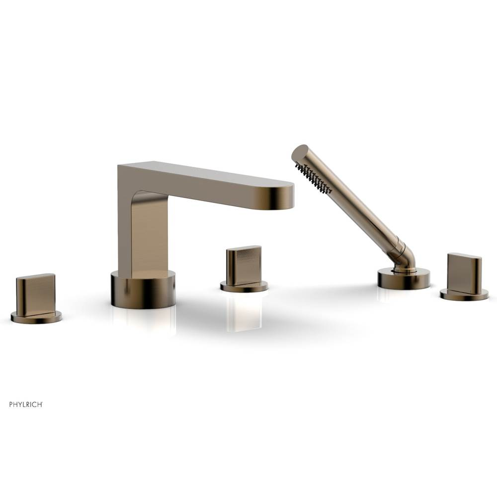Phylrich Deck Mount Roman Tub Faucets With Hand Showers item 183-48-047