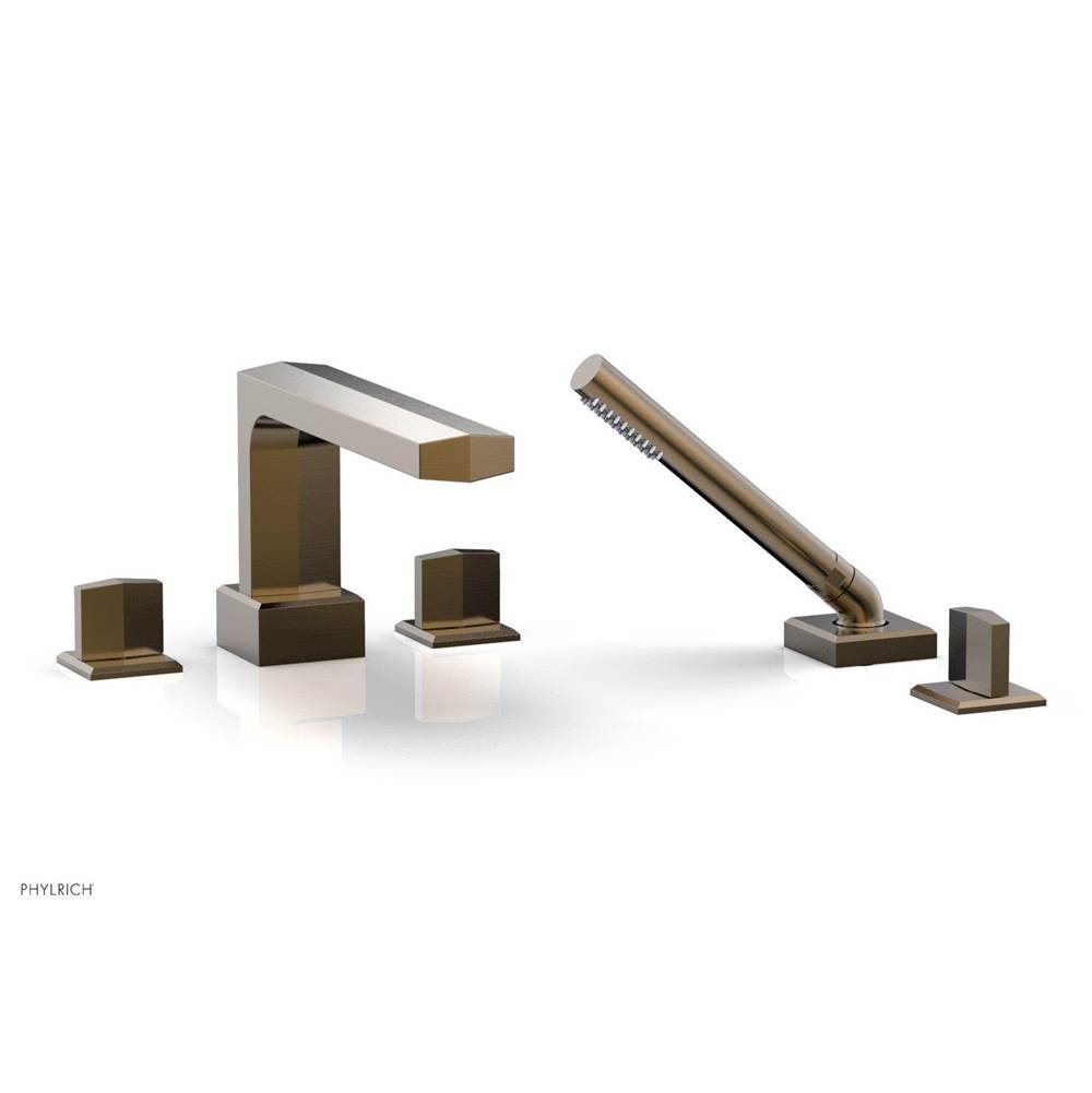Phylrich Deck Mount Roman Tub Faucets With Hand Showers item 184-48-047
