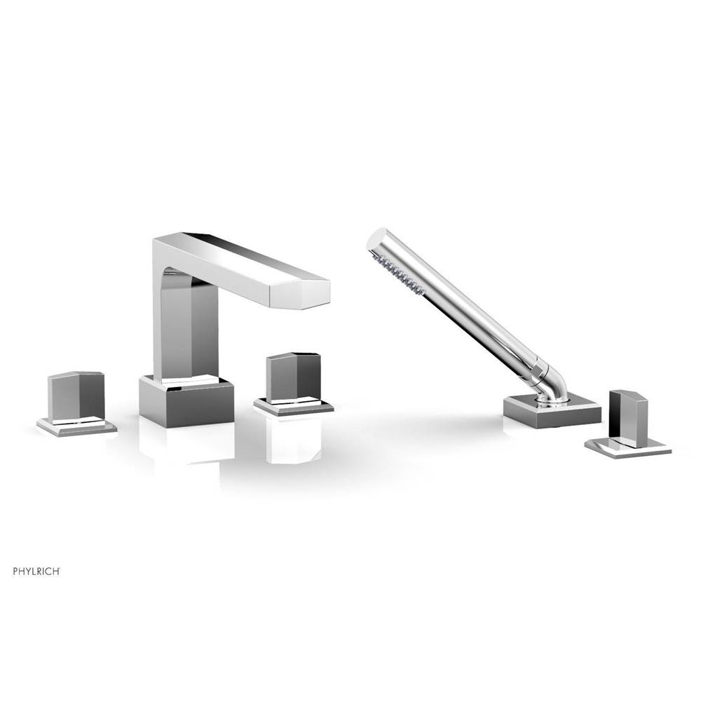 Phylrich Deck Mount Roman Tub Faucets With Hand Showers item 184-48-014