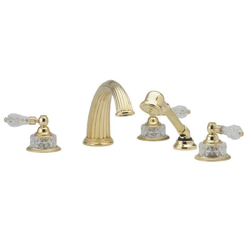 Phylrich Deck Mount Roman Tub Faucets With Hand Showers item K2181P1-024B
